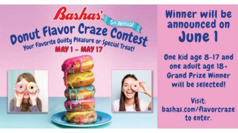Bashas' Donut contest