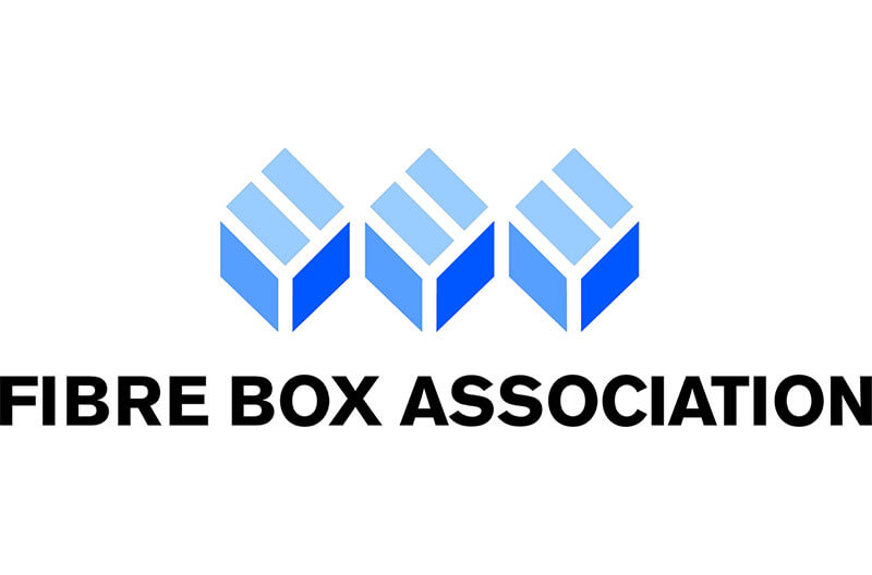 Fibre Box Association logo, corrugated