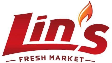 Lin's Fresh Market logo, Rosie
