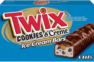 Twix ice cream bars, Mars