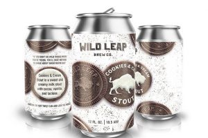 Wild Leap Cookies & Cream stout