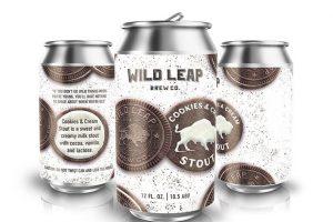 Wild Leap Cookies & Cream stout