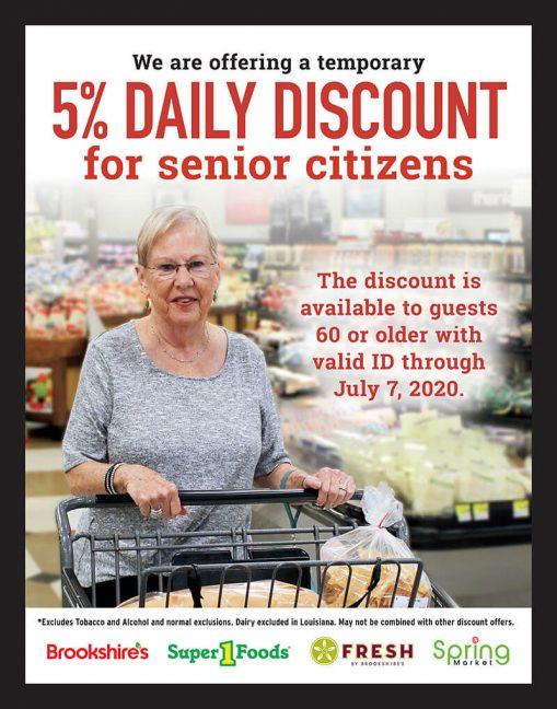 BGC discount senior