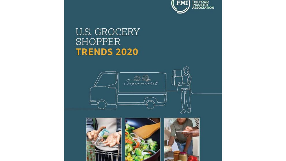 FMI Report online grocery shopping