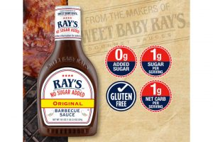 Sweet Baby Ray's no sugar added