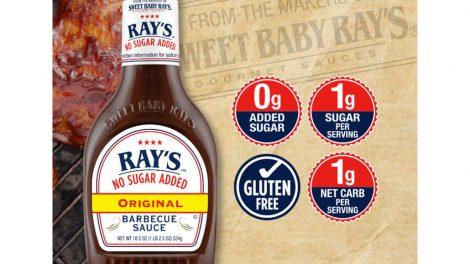 Sweet Baby Ray's no sugar added