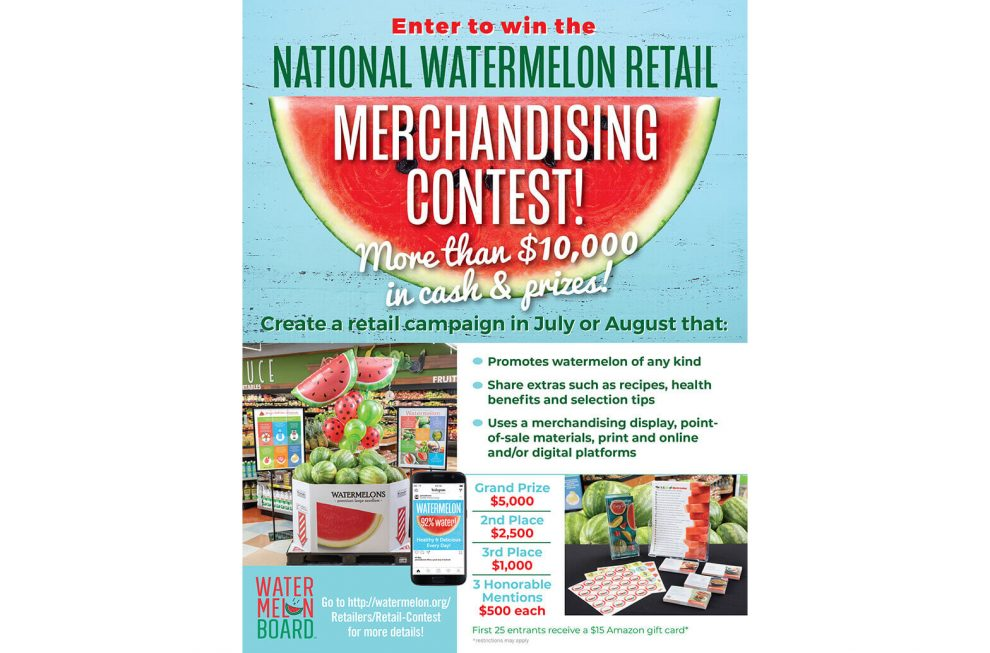NWPB watermelon retail contest