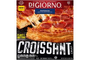 DiGiorno croissant crust pizza