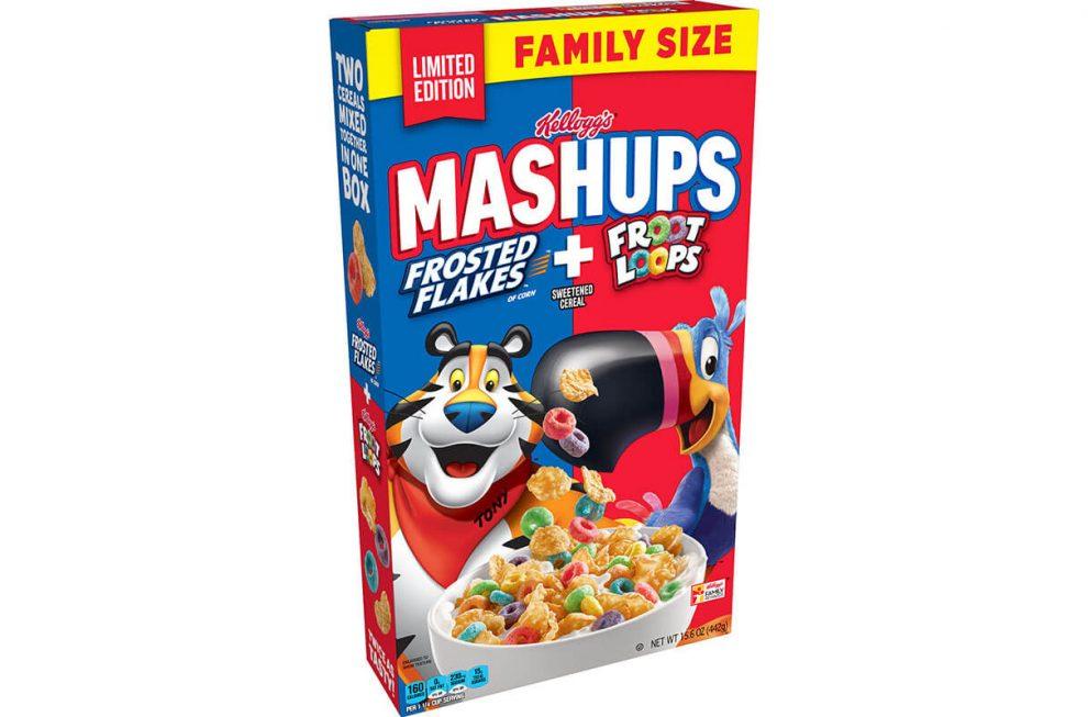 Kellogg Mashups cereal