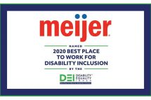 Meijer employer disability