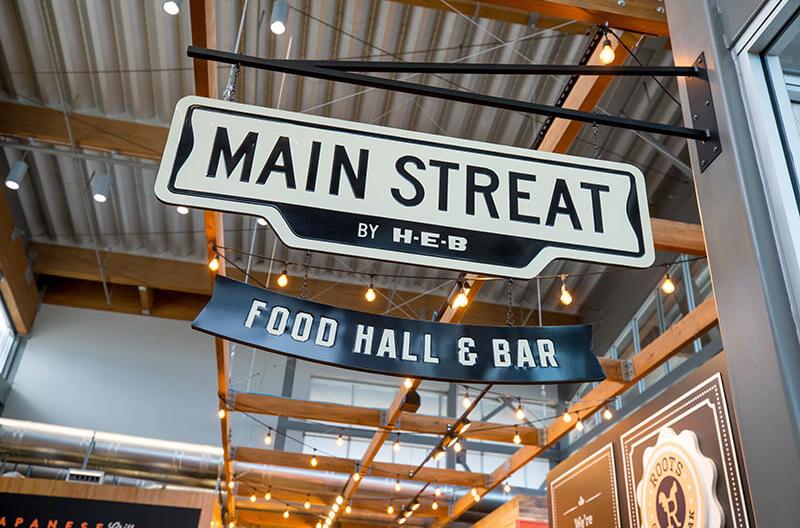 HEB Main Streat Food Hall