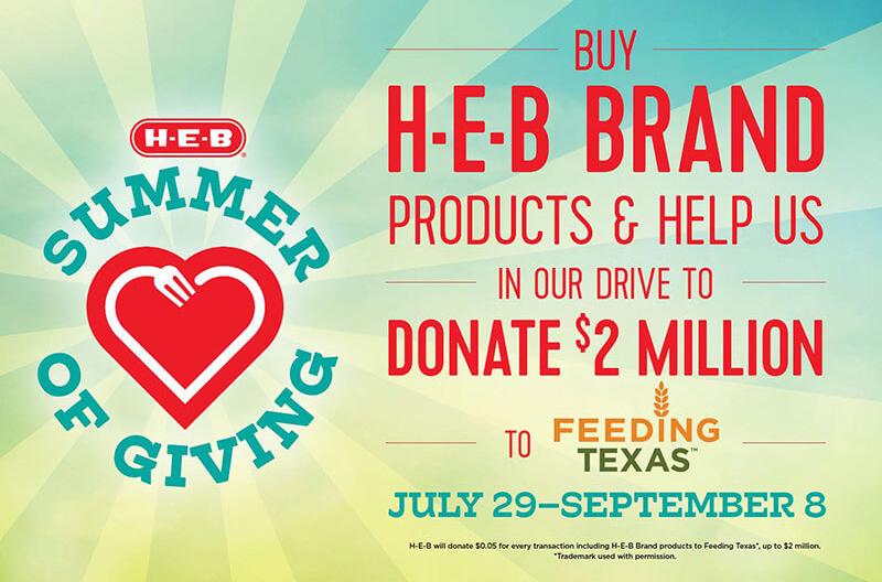H-E-B Feeding Texas