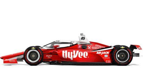 Hy-Vee Indy car