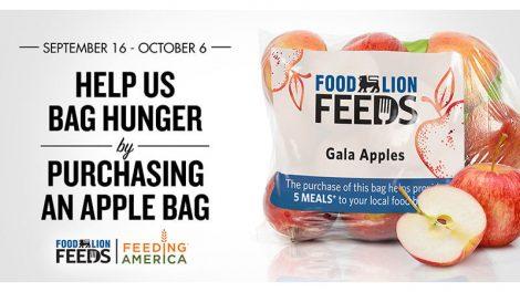 Food Lion apple campaign