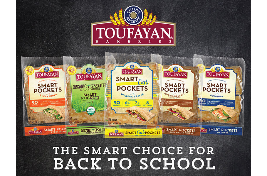 Toufayan lunches