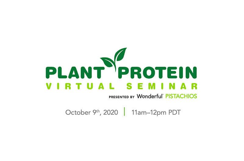 Wonderful Pistachios plant protein
