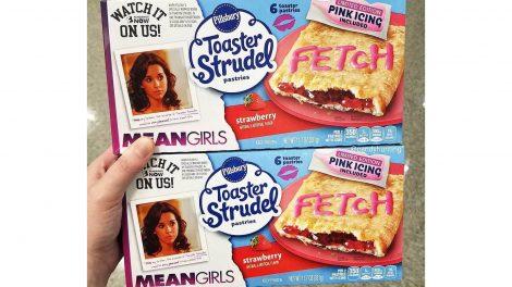 Mean Girls Toaster Strudel