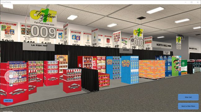 Affiliated Foods virtual event