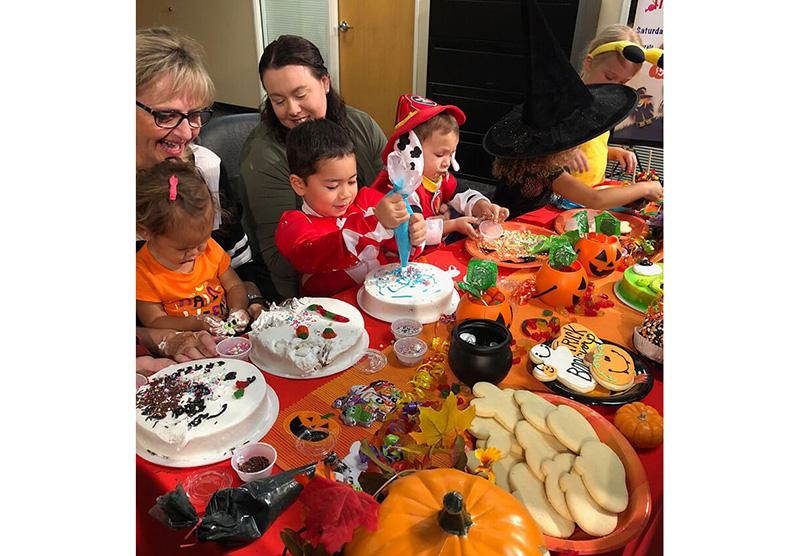 Bashas Halloween celebration