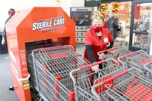 Hy-Vee sterile cart