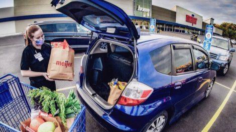 Meijer pickup service