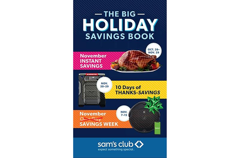 Sams Club holiday shopping