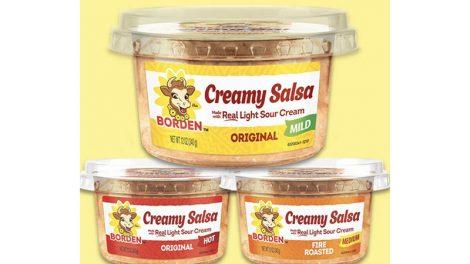 Borden salsa flavors
