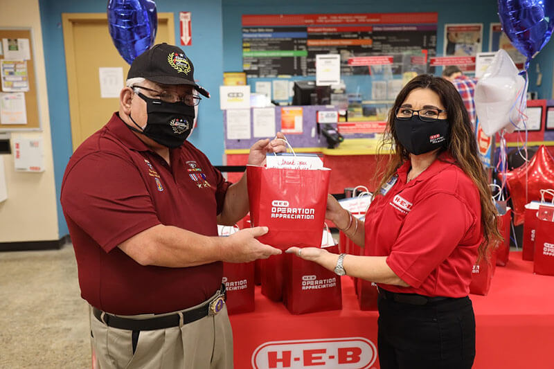 H-E-B Veterans Day