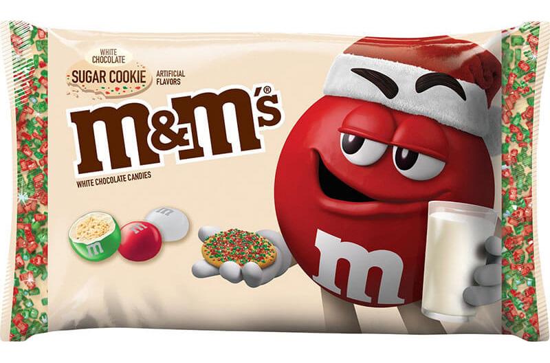 M&Ms sugar cookie