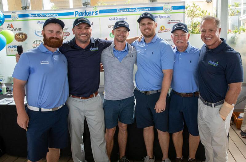 Parkers community golf