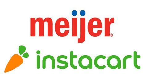 Meijer Instacart partnership