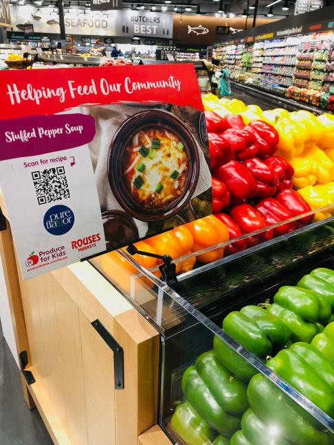 Produce for Kids campaign