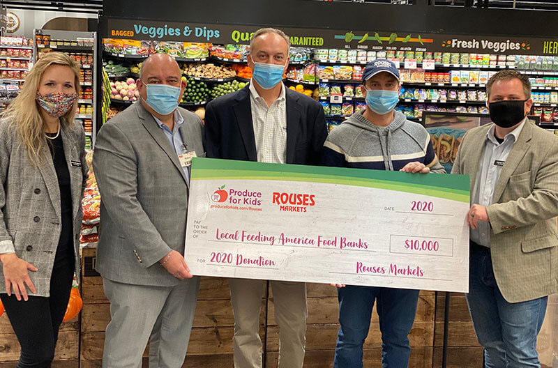 Rouses Produce for Kids campaign