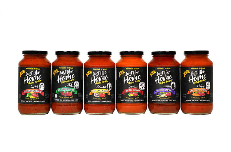 Just Like Home Pasta Sauces Supporting Homeless Shelters Across U S
