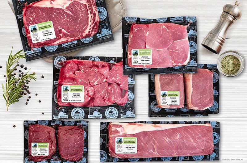 Tyson meats case