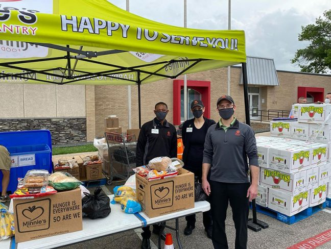 United Family Takes A Bite Out Of Hunger With 40,000 Lbs. Apple Donation