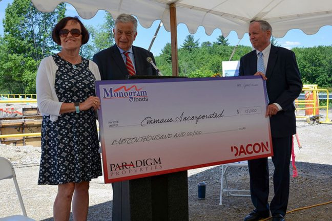Monogram Foods, Paradigm Partners And Dacon Start On New Facility
