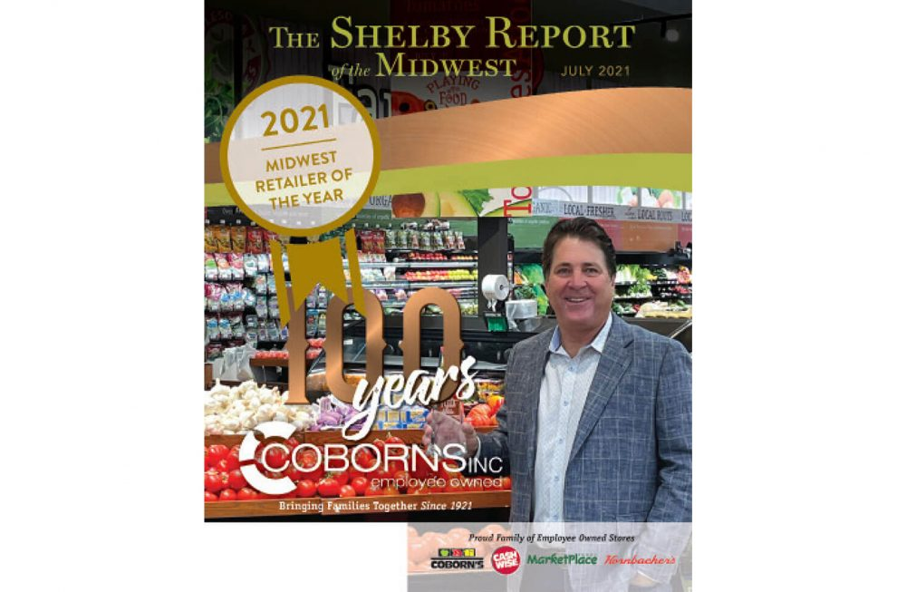 Coborn's Is The Shelby Report Of The Midwest 2021 Retailer Of The Year