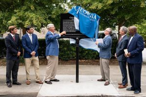 Colonial Group Unveils Historical Marker Celebrating 100 Years