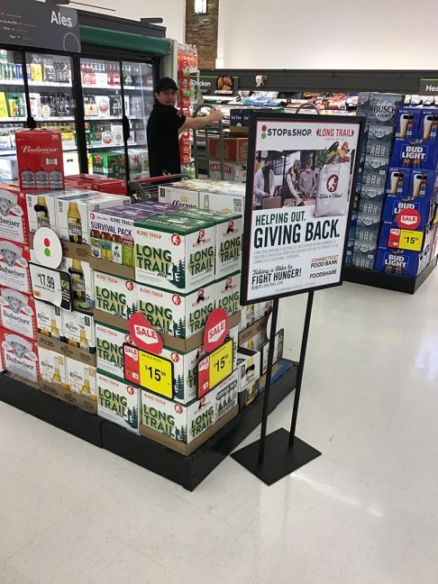 Stop & Shop And Long Trail Brewing Donate $1,000 To Help Fight Hunger