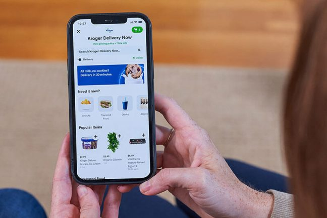 Kroger and Instacart To Provide 30-Minute Virtual Convenience Store Delivery